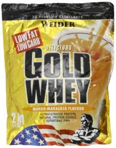 Weider Gold Whey Protein Beutel