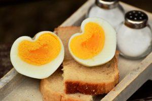 Natürliche Proteinquelle Eier zum Muskelaufbau